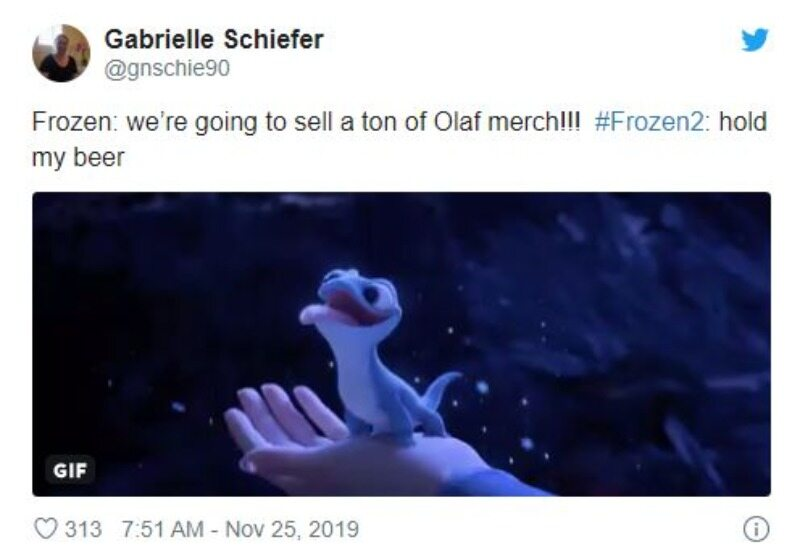 """Mem inspirowany filmem """"Frozen 2"""""""