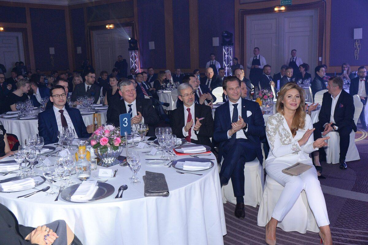 Premier Mateusz Morawiecki, Marek Suski, Jerzy Kwieciński, Michał M. Lisiecki, Katarzyna Gintrowska