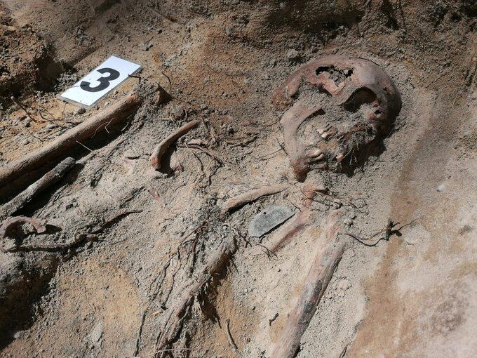 Prace przy poszukiwaniu i ekshumacji niemieckich grobów w Polsce