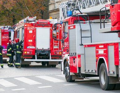 Chorzów. Kilkudziesięciu strażaków walczy z pożarem