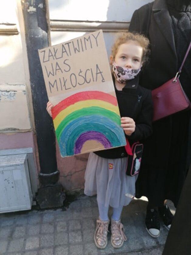 Najlepsze hasła z protestu Strajk Kobiet w Łodzi