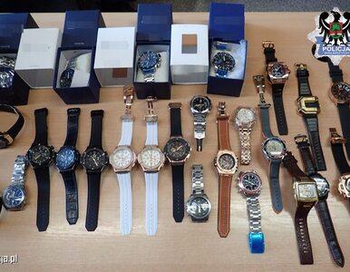 Policja walczy z handlem podróbkami. Zabezpieczono buty i zegarki za 1,2...