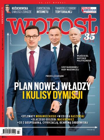 Okładka tygodnika Wprost nr 3/2018 (1819)