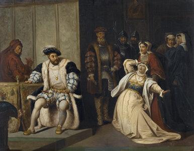 Henryk VIII wbrew papieżowi rozwiódł się z Katarzyną Aragońską. Początek...