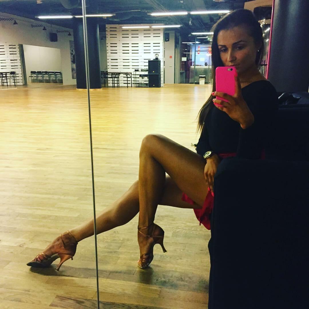 Sylwia Madeńska jest tancerką