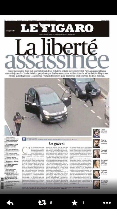 """Le Figaro - """"Zamordowana wolność"""""""