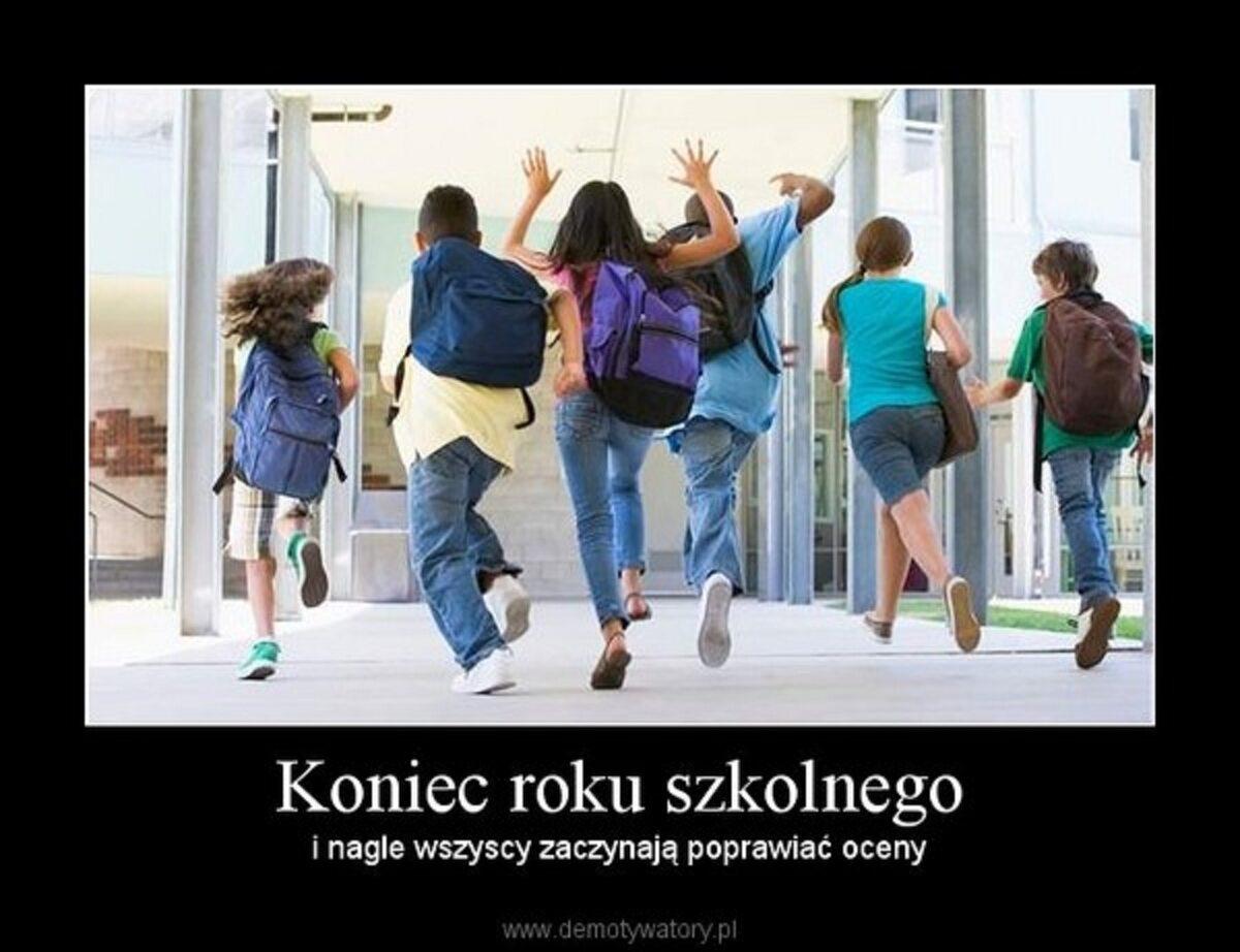Zakończenie roku szkolnego - okolicznościowe memy