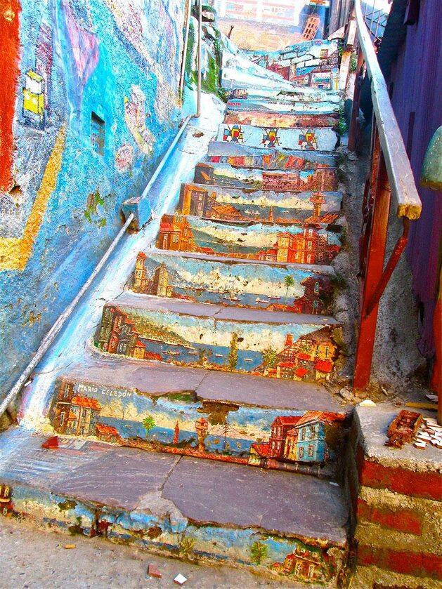 Valparaíso, Chile (fot. oueduabroad.wordpress.com)
