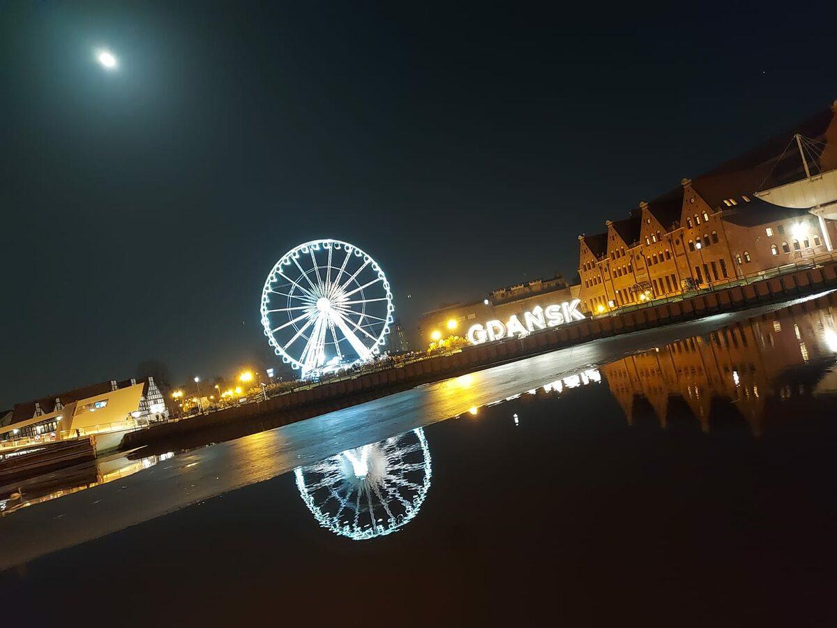 Niebieski Księżyc w Gdańsku