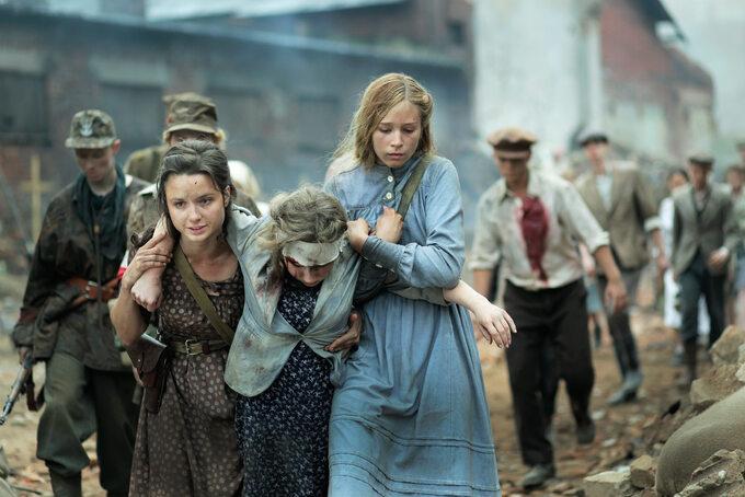 "Kadr zfilmu ""Miasto 44"" (2014)"
