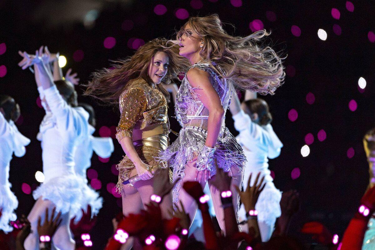 Shakira & J. Lo na Super Bowl