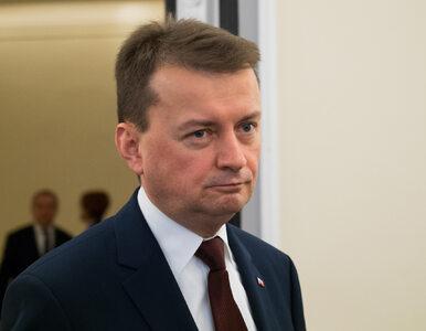 """Błaszczak: Opozycja totalna jest zakodowana na """"nie"""""""