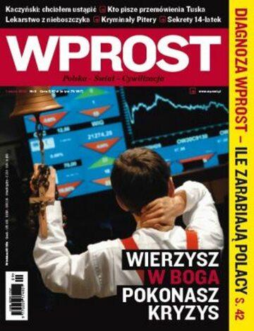 Okładka tygodnika Wprost nr 9/2009 (1364)