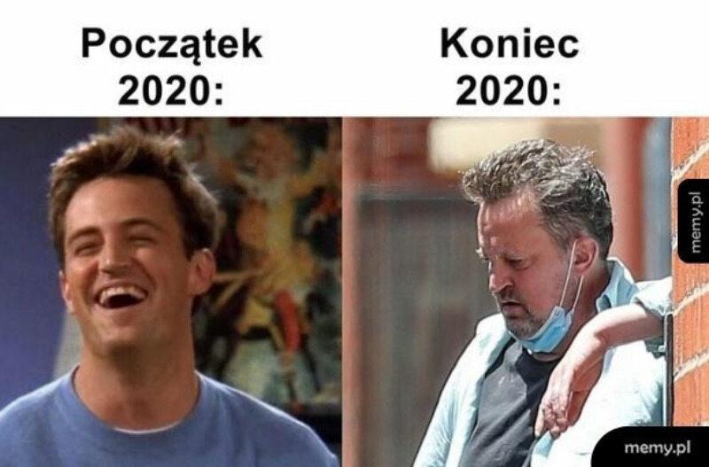 2021 rok i okolicznościowy mem
