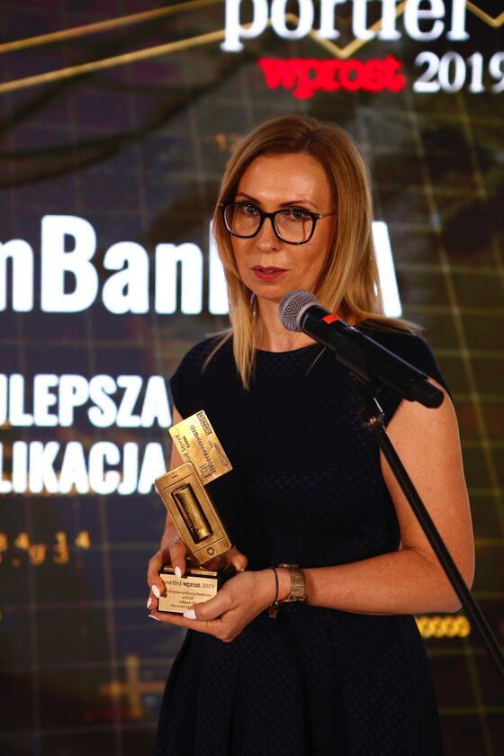 Monika Boniecka ekspert ds. rozwoju aplikacji mobilnej w mBanku.