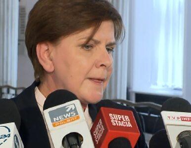 Szydło: Tusk przyznał, że nie panuje nad finansami publicznymi