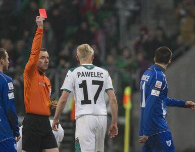 Sędzia Małek zawieszony za starcie z piłkarzem Floty