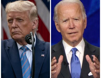 Debata przed wyborami w USA. Trump i Biden spierali się m.in. o politykę...