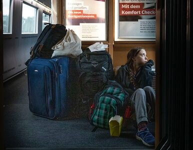 Na podłodze w korytarzu, czy w I klasie? Greta Thunberg kontra niemiecka...