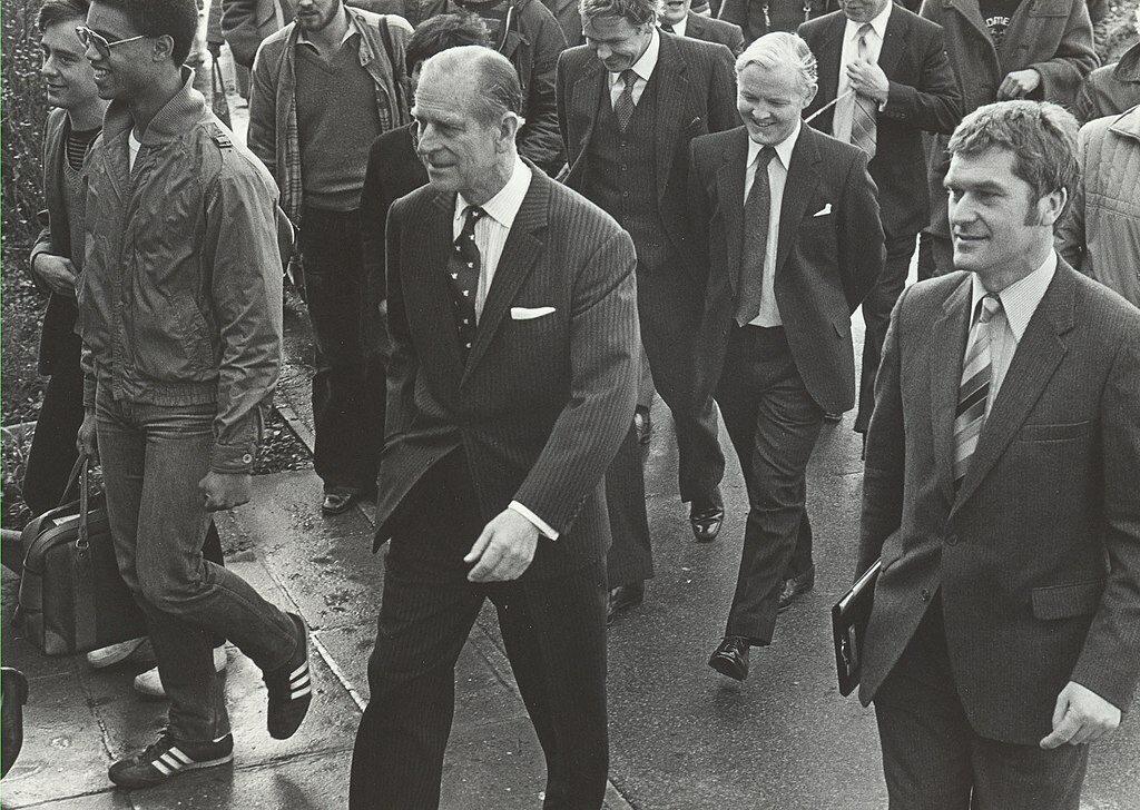 Książę Filip w 1981 roku