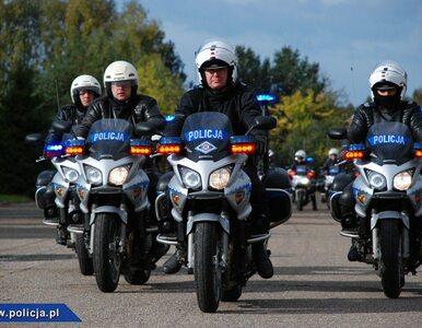 Policjanci na dwóch kółkach