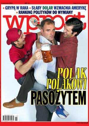 Okładka tygodnika Wprost nr 22/2003 (1070)