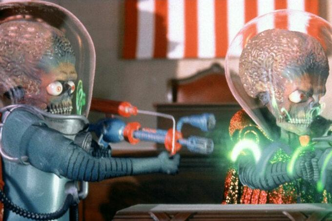 """""""Marsjanie atakują"""" / """"Mars Attacks!"""" (1996)"""