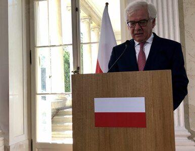 Co Polska i UE zrobią ws. Białorusi? Czaputowicz: Poza sankcjami musimy...
