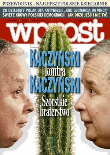 Okładka tygodnika Wprost nr 20/2006 (1223)