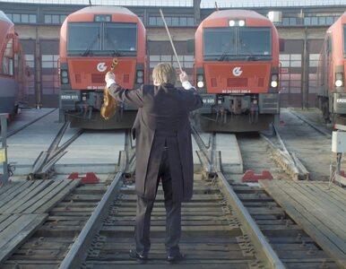 Litewskie lokomotywy... zagrały hymn Polski. To prezent na 100-lecie...
