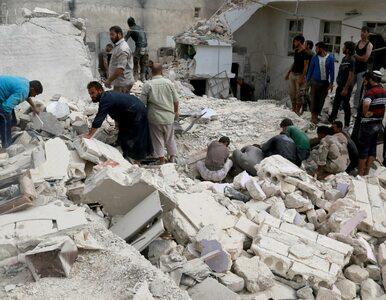 """Katastrofala sytuacja w Aleppo. """"To jak dzień sądu ostatecznego"""""""
