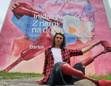 """Bartosz Kloch z programu """"Top Model"""""""