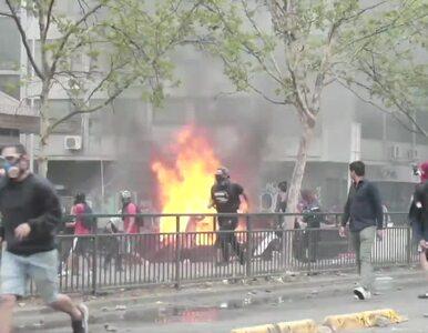 Zamieszki w Chile. Protestujący ograbili kościół