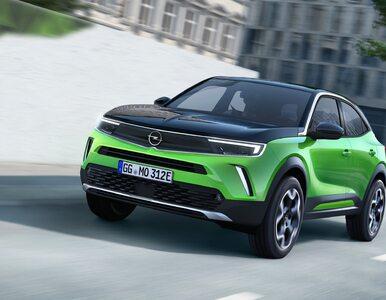 Co za design! Nowy Opel Mokka wygląda rewelacyjnie