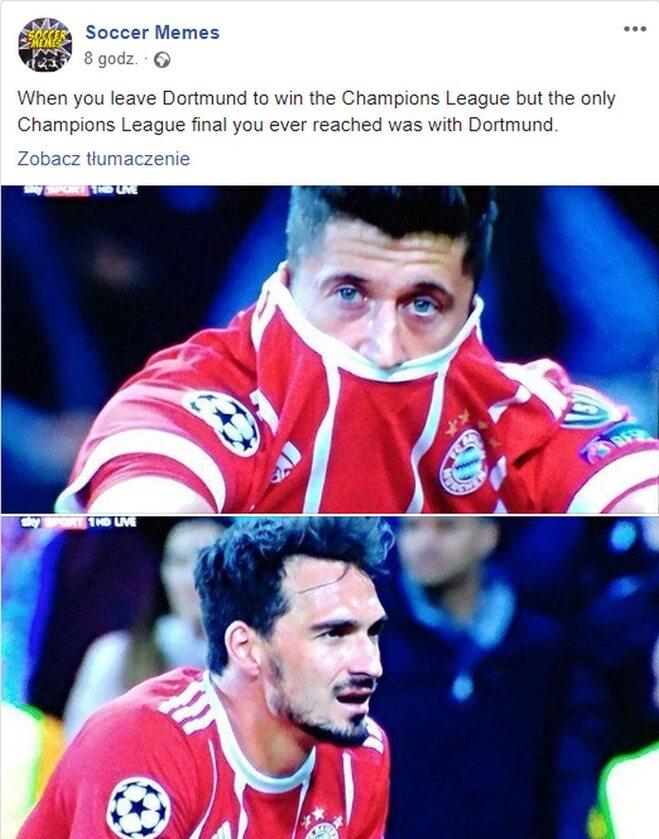 Kiedy odchodzisz z Borussi, by wygrać Ligę Mistrzów, ale jedyny finał LM miałeś właśnie z Borussią...