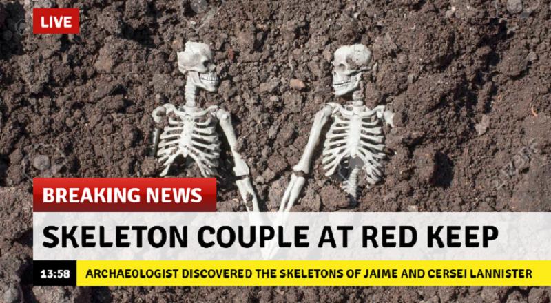 Para szkieletów znaleziona w Czerwonej Twierdzy