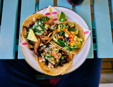 Tortilla na śniadanie, obiad i kolację, czyli oczyszczająca dieta... taco