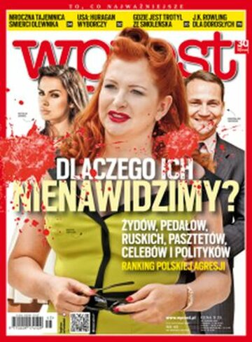 Okładka tygodnika Wprost nr 45/2012 (1551)