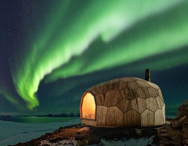 Drewniana chatka z widokiem na fiordy. Tak norweskie miasteczko zachęca...