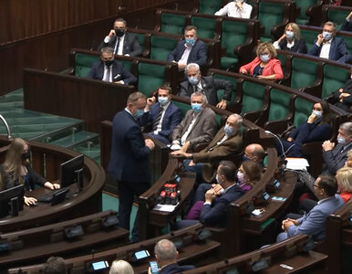 Robert Telus w obronie ministra rolnictwa. Licytacja na czas przemówień....