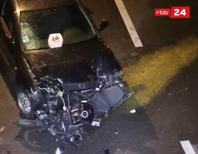 Irakijczyk spowodował serię wypadków na autostradzie w Berlinie....