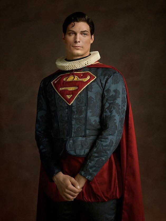 Superman, Fot. Sacha Goldberger / Facebook