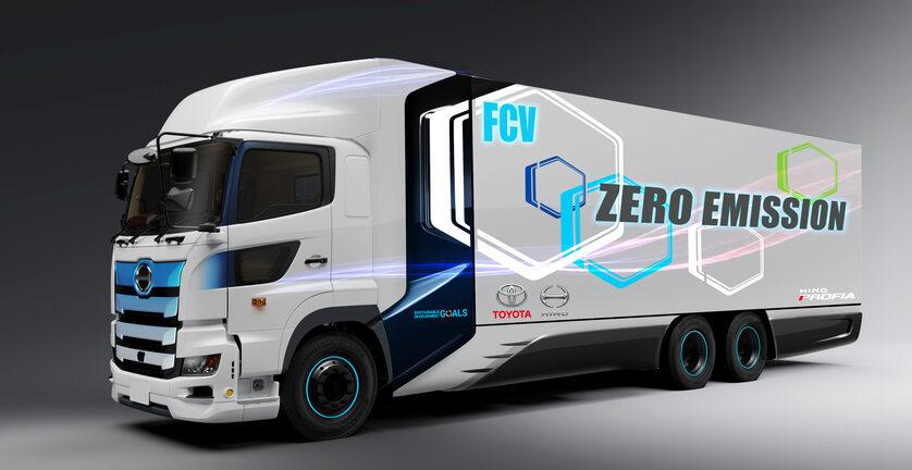 Nowa ciężarówka wodorowa Toyoty