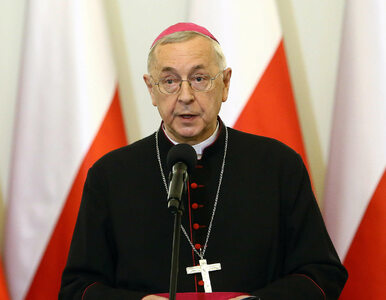 "Projekt ""Stop LGBT"". Abp Gądecki zabronił promowania go na terenach..."