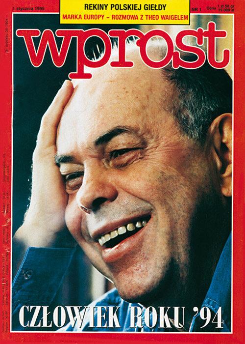 Okładka 1/1995 (631) WPROST Okładka 1/1995 (631) WPROST
