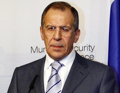 Szef MSZ Rosji: Będziemy dalej wspierać Syrię