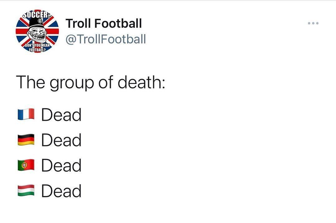 """Żadna z drużyn z """"grupy śmierci"""" nie gra już na Euro 2020"""