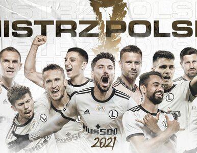 Legia Warszawa mistrzem Polski 2021. 15. tytuł Legionistów, to rekord ligi