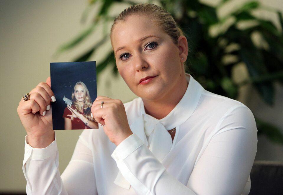 Virginia Roberts, którą Jeffrey Epstein miał skrzywdzić, gdy miała 15 lat