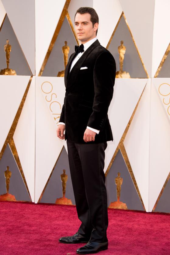 Henry Cavill podczas 88. ceremonii rozdania Oscarów w 2016 roku